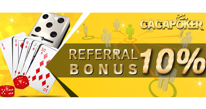 bonus referral poker online resmi